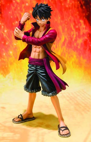 One Piece Figuarts Zero - Film Z - Monkey D Luffy Figure
