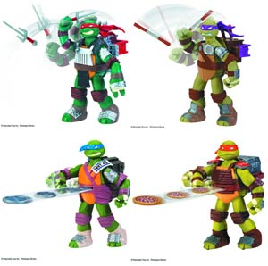 Teenage Mutant Ninja Turtles Flingerz Action Figure Assortment Case