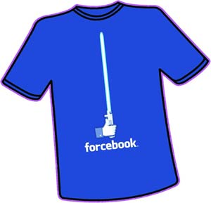 Forcebook T-Shirt Large