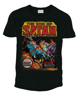 Son Of Satan Previews Exclusive Black T-Shirt Large
