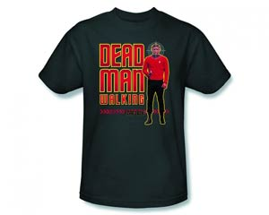 Star Trek Dead Man Walking Charcoal T-Shirt Large