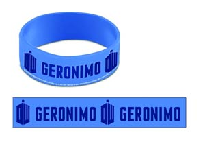 Doctor Who Wristband - Geronimo