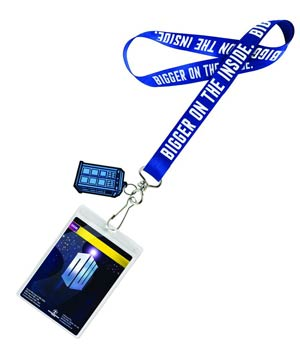Doctor Who Lanyard - TARDIS
