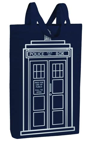 Doctor Who Tote Bag - TARDIS