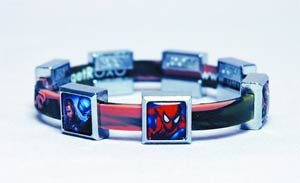 DO NOT USE (DNO) Roxo Avengers & Spider-Man Bands & Charms