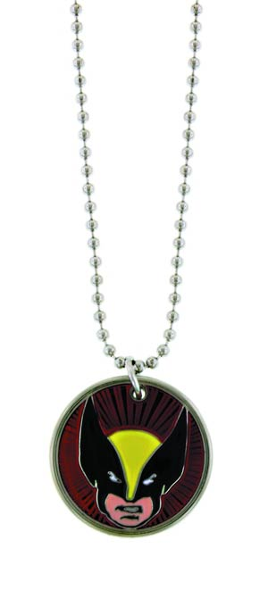 Marvel Heroes Necklace - Wolverine Head Image