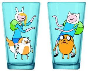 Adventure Time Pint Glass - Finn & Fiona