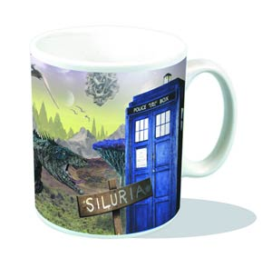 Doctor Who Mug - Siluria Postcard