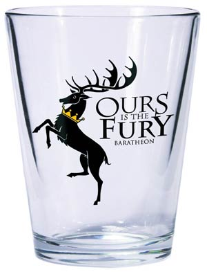 Game Of Thrones Shot Glass - Baratheon Sigil
