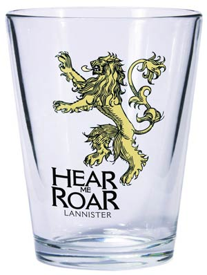 Game Of Thrones Shot Glass - Lannister Sigil