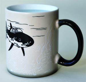 Tintin Boxed Magic Mug - Submarine