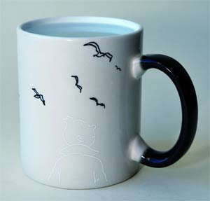 Tintin Boxed Magic Mug - Tintin & The Birds