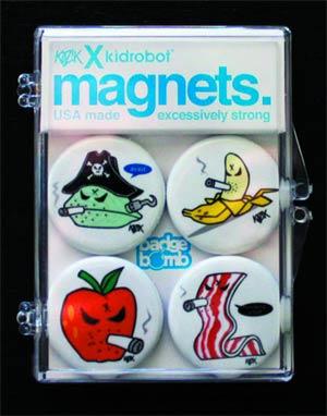 Mongers 4-Pack Magnet