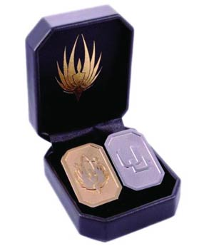 Battlestar Galactica Cubit Replica Set