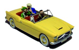 Tintin Transports - En Voiture Bordure #16