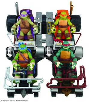 Teenage Mutant Ninja Turtles Mid-Price Vehicle Assortment Case