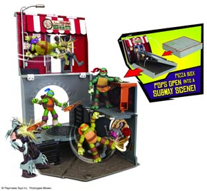 Teenage Mutant Ninja Turtles Pop-Up Pizza Playset Assortment Case