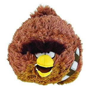 Angry Birds Star Wars 5-Inch Chewie Plush Case