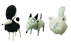Frankenweenie Plush 3-Piece Assortment Case