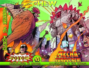 Chew Poster #1 Secret Agent Poyo
