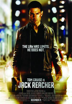 Jack Reacher Blu-ray Combo DVD