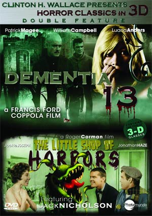 Dementia 13 / Little Shop Of Horrors 3D DVD