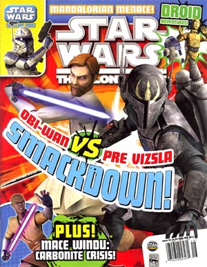 Star Wars The Clone Wars Magazine #16 Mar / Apr 2013