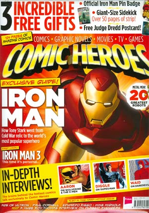 Comic Heroes Magazine #17
