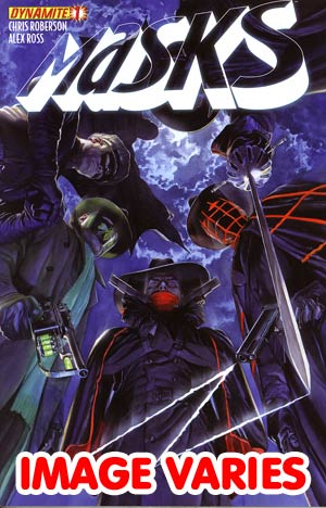 Masks #1 Regular Cover (Filled Randomly With 1 Of 4 Covers)