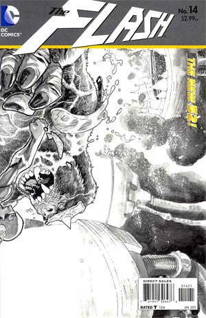 Flash Vol 4 #14 Incentive Francis Manapul Sketch Cover