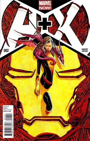 A Plus X #2 Cover B Incentive Mike Del Mundo Variant Cover