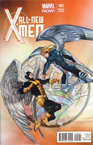 All-New X-Men #2 Cover A Incentive Pasqual Ferry Variant Cover