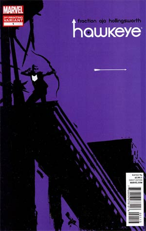 Hawkeye Vol 4 #1 3rd Ptg David Aja Variant Cover