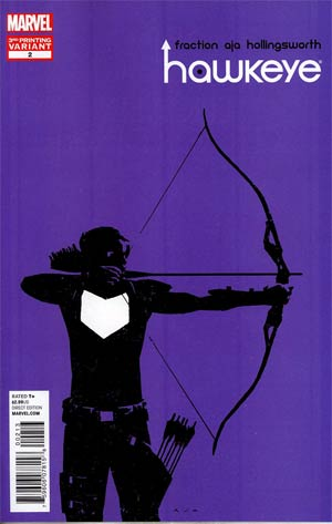 Hawkeye Vol 4 #2 3rd Ptg David Aja Variant Cover