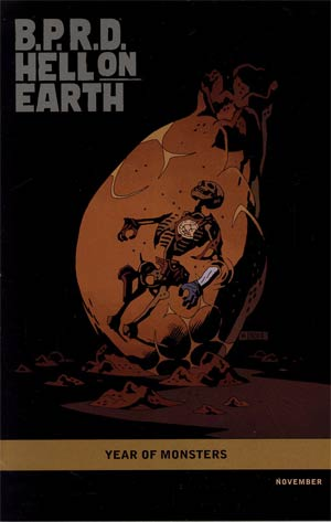 BPRD Hell On Earth Return Of The Master #4 (101) Incentive Mike Mignola Year Of Monsters Variant Cover