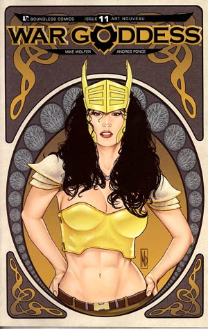 War Goddess #11 Incentive Art Nouveau Variant Cover