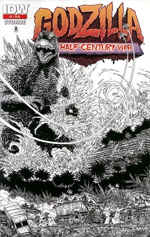 Godzilla Half-Century War #2 2nd Ptg