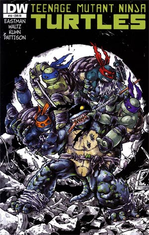 Teenage Mutant Ninja Turtles Vol 5 #16 Cover C Incentive Ross Campbell Variant Cover
