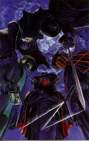 Masks #1 Incentive Alex Ross Virgin Cover