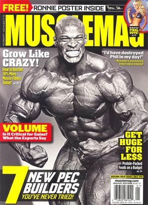 Muscle Mag #368 Jan 2013