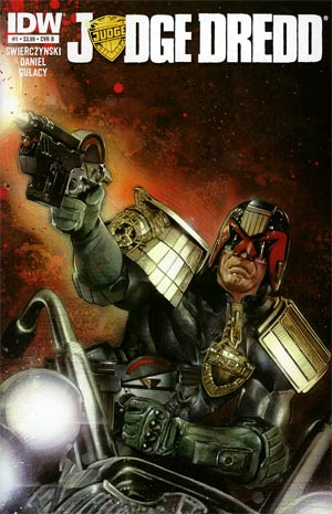 Judge Dredd Vol 4 #1 1st Ptg Regular Cover B Nick Runge