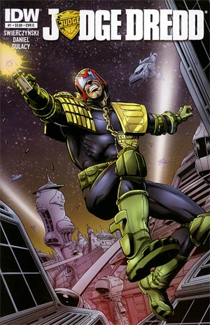 Judge Dredd Vol 4 #1 1st Ptg Regular Cover C Jim Starlin & Allen Milgrom
