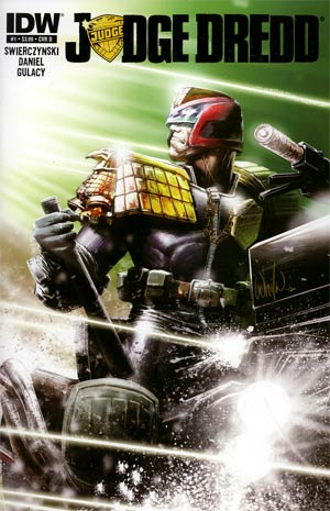 Judge Dredd Vol 4 #1 1st Ptg Regular Cover D Whilce Portacio
