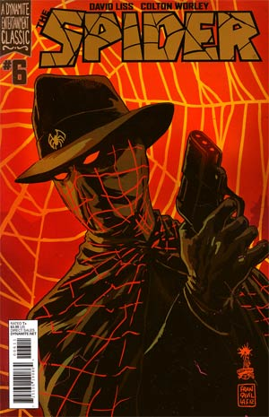 Spider #6 Regular Francesco Francavilla Cover
