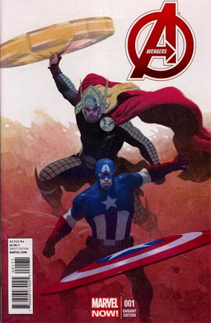 Avengers Vol 5 #1 Incentive Essad Ribic Variant Cover