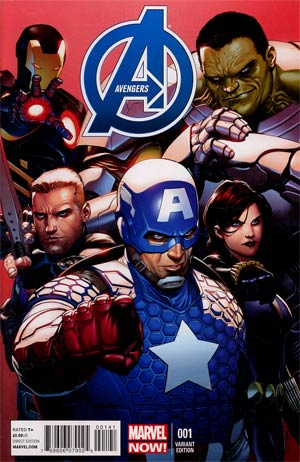 Avengers Vol 5 #1 Incentive Steve McNiven Variant Cover