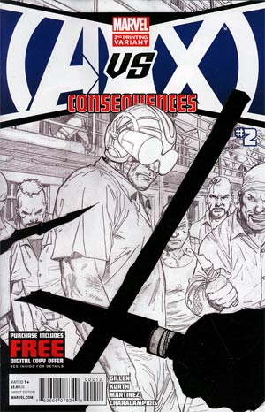 AVX Consequences #2 2nd Ptg Patrick Zircher Variant Cover