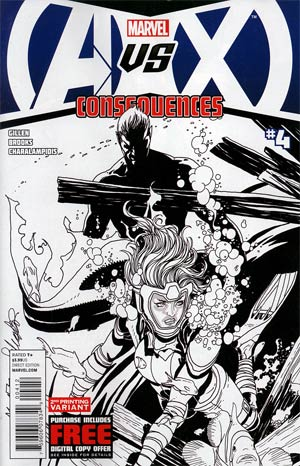 AVX Consequences #4 2nd Ptg Patrick Zircher Variant Cover