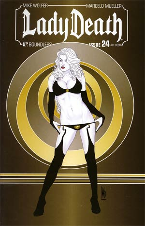 Lady Death Vol 3 #24 Incentive Art Deco Variant Cover