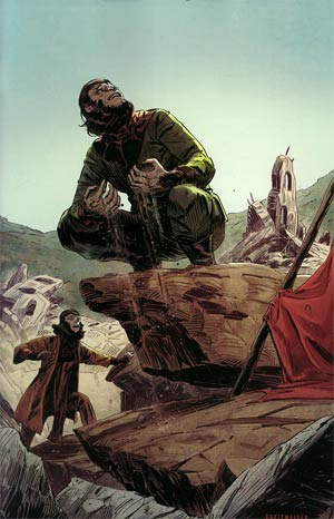 Planet Of The Apes Cataclysm #4 Incentive Mitch Breitweiser Virgin Variant Cover